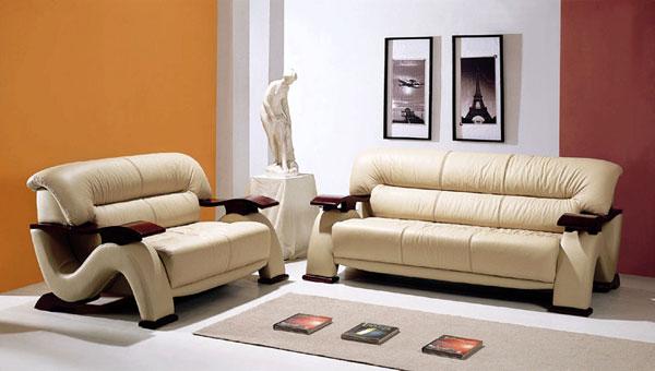 Muebles de cuero, cuerina y microcuero